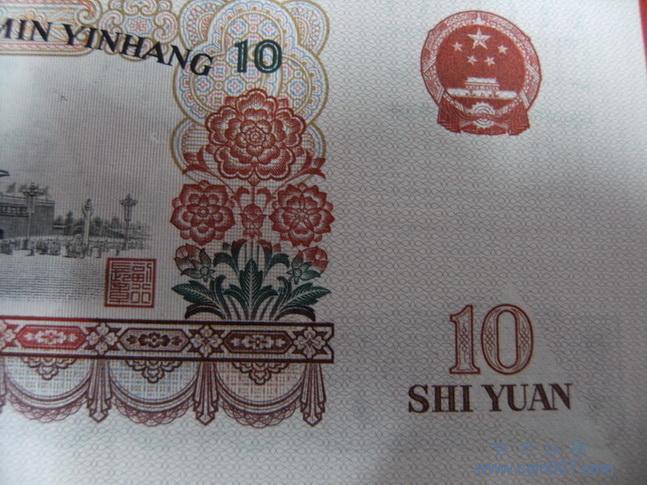 """第5套人民币背后的风景名胜的资料(1元,10元)1元:背面主景为""""杭州西湖"""