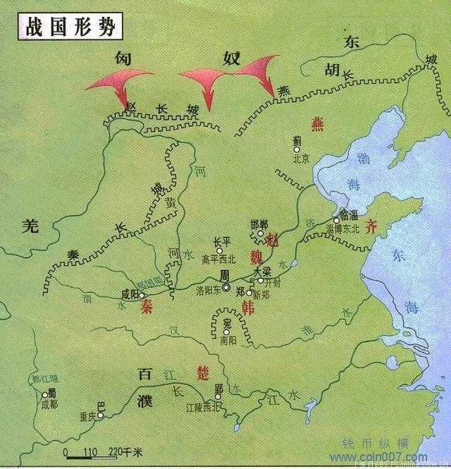 中国各时期地图全图 钱币纵横